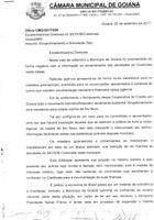 Vereadores enviam ofício pela permanência do SICOOB - Credimata em Goianá